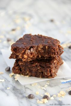 Breakfast Brownies » Eat. Drink. Love.