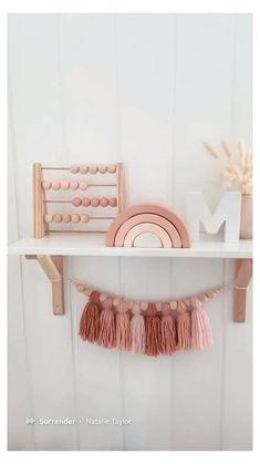 Pink Bedroom For Girls, Pink Bedroom Decor, Baby Girl Room Decor, Baby Room Design, Baby Decor, Rainbow Girls Bedroom, Baby Room Ideas For Girls, Baby Nursery Ideas For Girl, Baby Girl Rooms