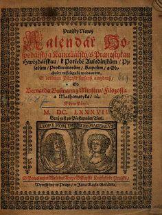 Pražský Nowý Kalendář Hospodářský a Kancellářský, s Pranostykau Hwězdářskau ... - Bernard Bussman - 1607