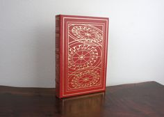 The Last Don by Mario Puzo, Signed Collector's Firsts Edition, Vintage Leather Hard Cover Book, Franklin Library, Red Hardcover, 500010 by TheLionsDenStudio on Etsy