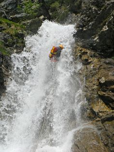 Canyoning Rossgumpen Lechtal Tirol - Nature Adventure Nature Adventure, Best Wordpress Themes, Some Pictures, Rafting, Niagara Falls, Tours, Travel, Viajes, Traveling