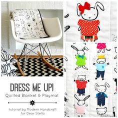 Dress Me Up! Tutorial from Modern Handcraft