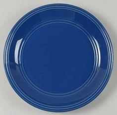Mainstays Stadium Blue Dinner Plate, Fine China Dinnerware by Mainstays. $7.99. Mainstays - Mainstays Stadium Blue Dinner Plate - All Blue,Embossed Rings,Rim,No Trim