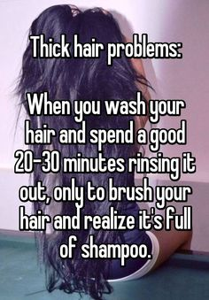 Results for thick hair problems