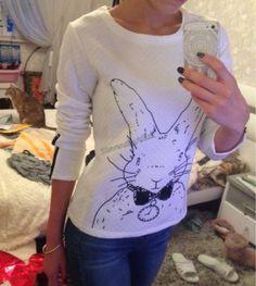 Luxusní mikina s králíkem   http://aliexpress.ceskyali.cz/subdom/aliexpress/svetry-mikiny-kardiny/luxusni-mikina-s-kralikem/    💌 Objednejte si zde >>> http://aliexpr.es/1VVZ7bi  🎀 Jsem z ní naprosto nadšená. Normálně nosím M, ale na fotce je L. Dodání 21 dní. :)  ✔ Návody, jak nakupovat na Aliexpress: http://www.ceskyali.cz/cat/jak-nakupovat-na-aliexpress/  Likujte a sdílejte sostatními Ali Maniačkami a Ali Maniaky :)  #Alie
