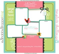 Easy-As-Pie Template Challenge {EIGHT}