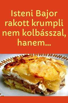 Potato Dishes, Superfoods, Lasagna, Food And Drink, Cooking Recipes, Potatoes, Lunch, Ethnic Recipes, Sweet