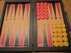 Horn Brothers Bakelite Backgammon Set - Rewind Time