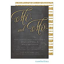 chalkboard with glitter Bridal Shower Invitation -Available at Boardman Printing Couples Shower Invitations, Party Invitations, Bridal Shower Chalkboard, Gold Glitter Wedding, Bride Shower, Chalkboard Invitation, Couple Shower, Invitation Design, Invite