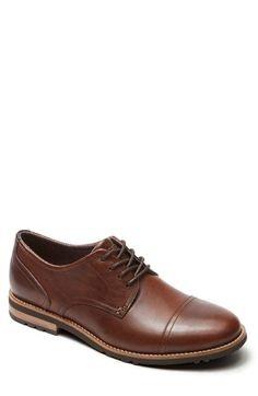 b2116342e34 Rockport  Ledge Hill Too  Cap Toe Derby (Men) available at  Nordstrom