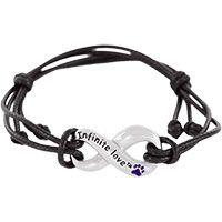 Infinite Love™ Purple Paw Bracelet at The Animal Rescue Site