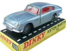 #diecast #Dinky 153 Aston Martin DB6 new or updated at www.diecastplus.info