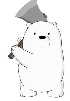 Cartoon Wallpaper Iphone, Bear Wallpaper, Cute Disney Wallpaper, Cute Cartoon Wallpapers, Ice Bear We Bare Bears, 3 Bears, Cute Bears, Stickers Kawaii, Cute Stickers