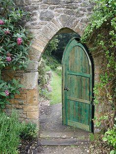 Gate to my secret garden perhaps? Arched Gate - Dronninglund Castle ...