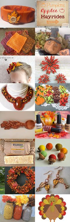 Time for a Hayride!~TeamUNITY~ Group 12 by Kathy Carroll on Etsy--Pinned with TreasuryPin.com #autumntrends