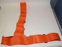 Vintage New AAA School Safety Patrol Orange Belt Sash Strap. Only the most elite of students could wear the belt of honor.