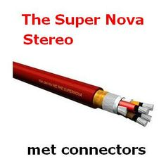 van den Hul Luidsprekerkabel, The Super Nova, Stereo set, 200 cm