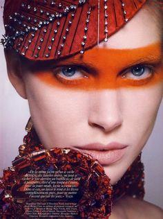 Vogue Paris June/July 2010 | Hair by Sam McKnight, Styled by Emmanuelle Alt // #beauty #editorial