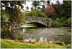 Beacon Hill Park stone bridge, Victoria BC