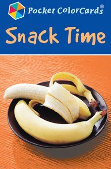 Snack Time Pocket ColorCards