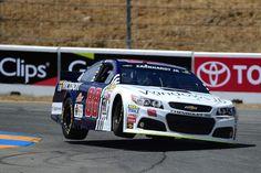 Dale Earnhardt Jr. at Sonoma