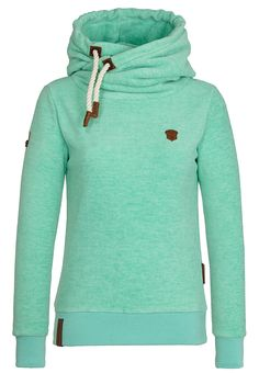 Naketano Kanisterkopf W hoodie turquoise heather