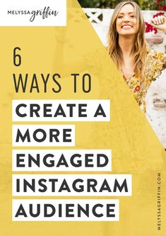 If you want to learn how to gain instagram followers, you must begin to engage with them! Here are 6 instagram tips to increase your blog's awareness! #MelyssaGriffin #instagramtips Instagram Marketing Tips, Instagram Tips, Instagram Feed, Instagram Posts, Social Media Tips, Social Media Marketing, Digital Marketing, Brand Marketing Strategy, Business Marketing