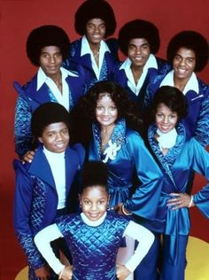 The Jacksons - When they wuz black and had big noses. Janet Jackson, The Jackson Five, Jackson Family, Vintage Black Glamour, The Jacksons, Black Celebrities, Celebs, Black Families, Soul Music