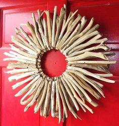 Driftwood wreath!