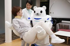 Perhaps only the gentle are ever really strong. A gentle Robot #innovation #care #hospitals