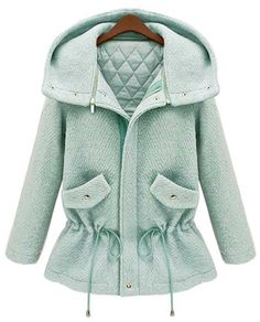 mint coat| $32.16  kawaii fairy kei pastel gyaru ulzzang fachin coat jacket top sammydress