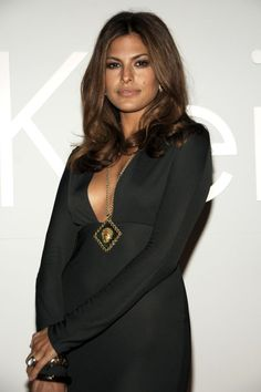 Eva Mendes Calvin Klein 40th Anniversary Party