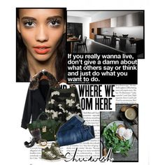"""""""Sometimes it takes some time out on your own to find your way back home."""" by milkandabsinth on Polyvore"""