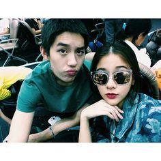 Tor & Gao Hormones The Series, Round Sunglasses, Thailand, Celebs, Gao, Couples, Celebrities, Round Frame Sunglasses, Couple