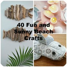 40 Fun and Sunny Beach Crafts - http://www.bigdiyideas.com/40-fun-and-sunny-beach-crafts/         (adsbygoogle = window.adsbygoogle || []).push();      There's something simply wonderful about summer at the beach. Who wouldn't want to keep a bit of it around all year to enjoy? Well, with our fun and sunny beach crafts, you can capture these terrific summer...