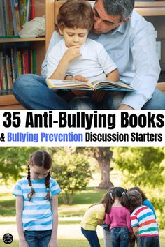 These anti-bullying books are perfect for bullying prevention and for talking about bullies. Comes with bullying prevention discussion starters Kindness Activities, Activities For Kids, Bullying Activities, Learning Activities, Stop Bullying, Anti Bullying, Books About Bullying, Bullying Prevention, Boredom Busters