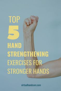 Since our hands do so many activities for us throughout the day it is important to keep them strong so they can withstand stress and strain. These exercises are clinically proven by our own hand therapist. Hand Exercises For Arthritis, Arthritis Hands, Finger Exercises, Hand Grip Exercises, Isometric Exercises, Hand Injuries, Occupational Therapy Activities, Strong Hand, Hand Therapy