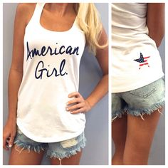 American Girl on 4th of July