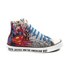 2d2e0a347139c5 Converse All Star Hi Man of Steel Athletic Shoe New Converse