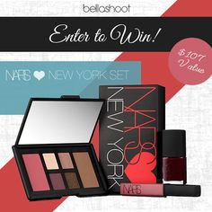 REMINDER!Giveaway Route: win NARS Hearts  New York Set