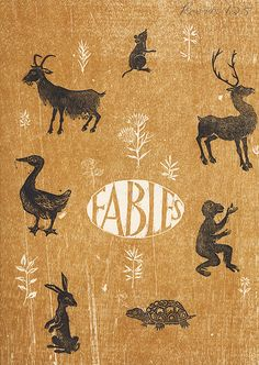 Aesop's Fables illustrated by Helen Siegl (1964)