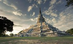 Picture of the day Wat Phu Khao Thong (Golden Mount) - Ayutthaya  from https://invalid.invalid/photostream/