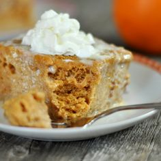 Pumpkin Tres Leches Cake Recipe