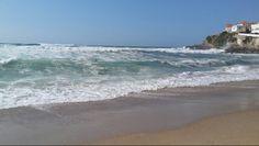 Mar revolto.