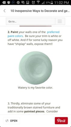 Great paint color