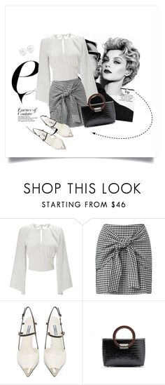 """""""Untitled #42"""" by vuzetka on Polyvore featuring Miss Selfridge, Prada and Kenneth Jay Lane"""