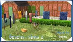"""Mod The Sims - besens - """"big"""" laundry"""