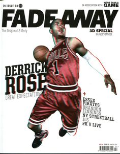 Derrick Rose On A Cool Magazine Cover