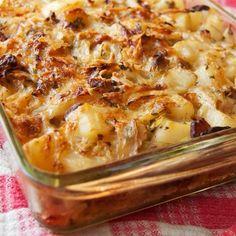Polish Cabbage, Potato, and Bacon Casserole
