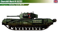 Infantry Tank Mk.IV Churchill Mk.VI